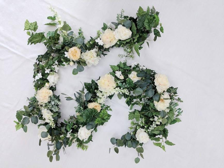 Flower Garland Fl Wedding Silk