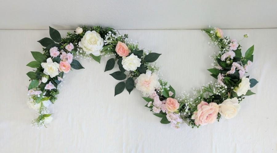 زفاف - Flower Garland, Floral Garland, Wedding Garland, Silk Flower Garland, Wedding Flower Garland, Silk Flowers, Wedding Flowers, Garland