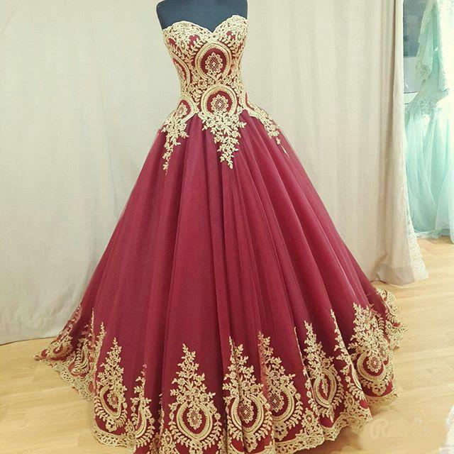 Свадьба - Charming Prom Dress,Ball Gown Prom