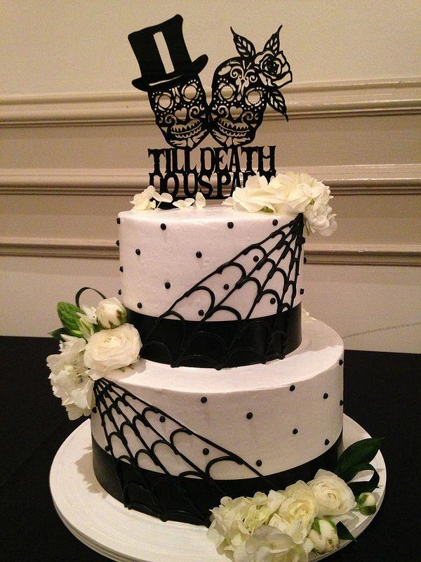 Свадьба - Day Of The Dead Wedding Cake (3321)