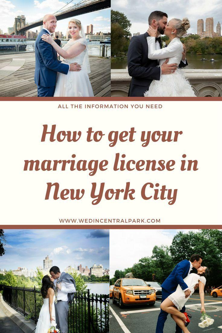 Wedding - How To Get Your Marriage License In New York City