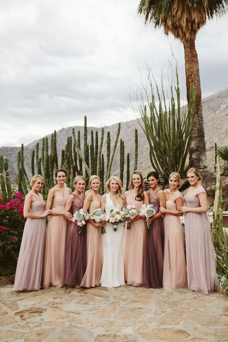 Wedding - Pastel Bridesmaid Dresses