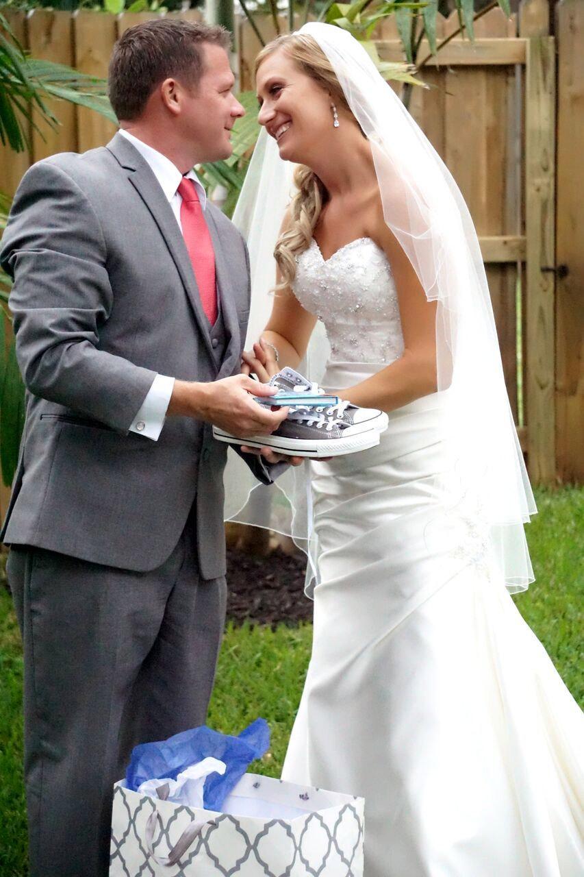6b42bcda2cc89 Custom Wedding Converse, Bride Groom's Hand Painted Wedding Converse ...