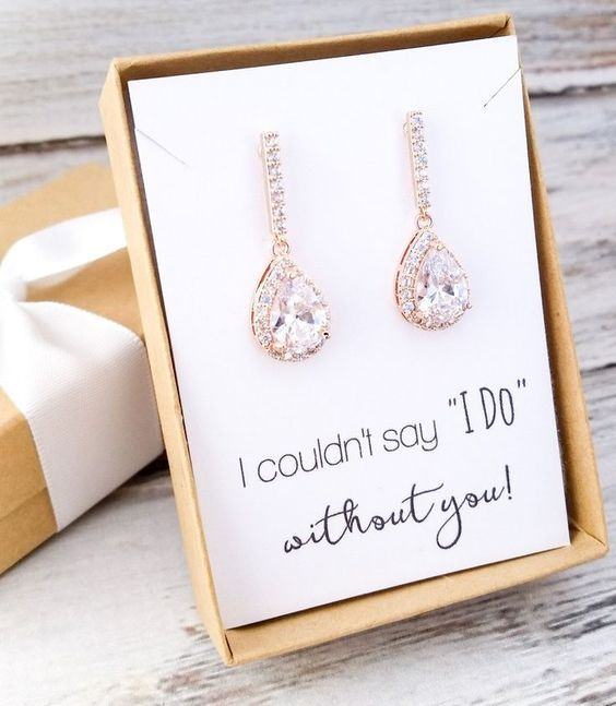 Wedding - Drop Earrings