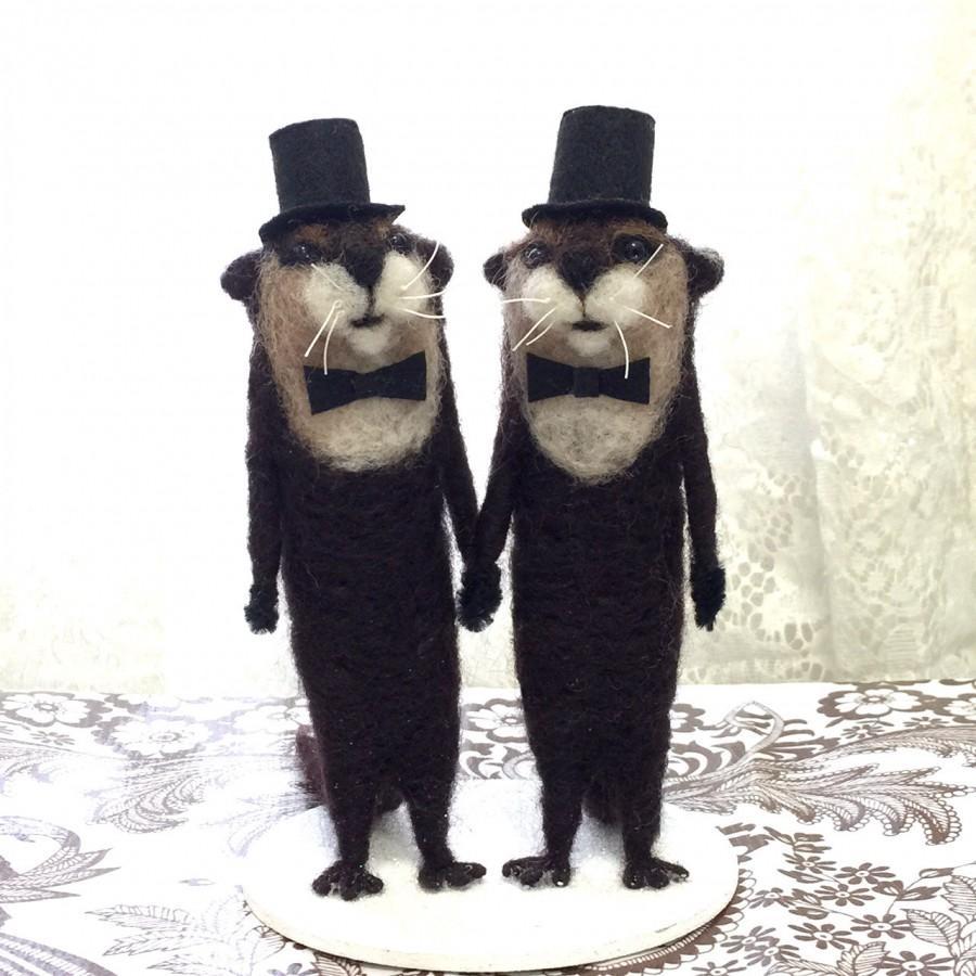 Hochzeit - Same Sex Custom Wedding Cake Toppers