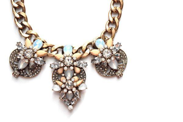 Mariage - Retro Pastel Statement Necklace