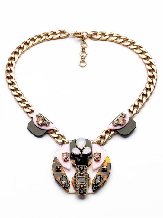 Wedding - Modernism Statement Necklace