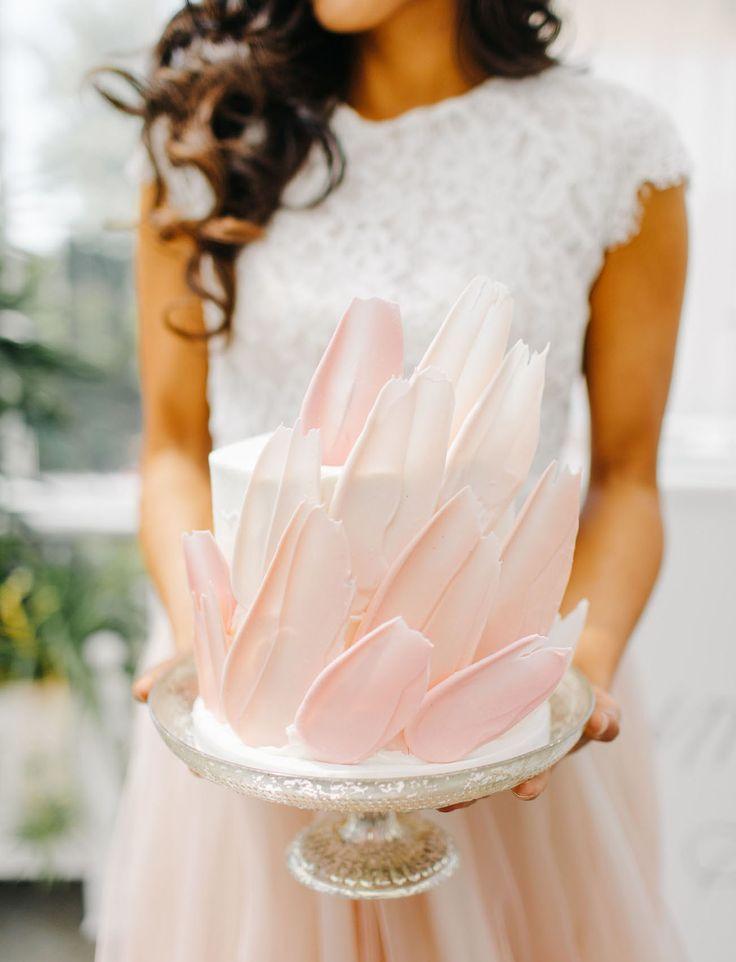Свадьба - Feelin' Peachy: Modern Wedding Inspiration In A Greenhouse