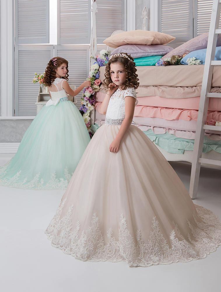 58af11f8ba Blush Flower Girl Dress • Mint Flower Girl Dress • Pink Flower Girl Dress •  Birthday • Girls party dresses • Princess Dress •Toddler dress