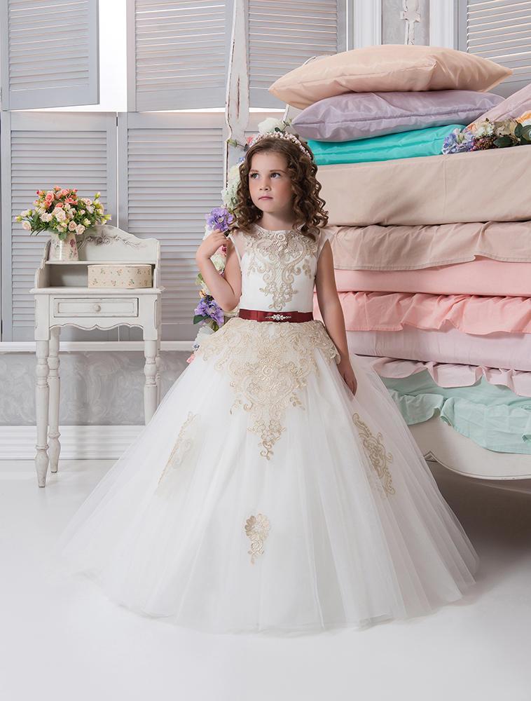 Ivory Flower Girl Dress White Flower Girl Dress Princess Dress Magnificent Flower Girl Dress Patterns