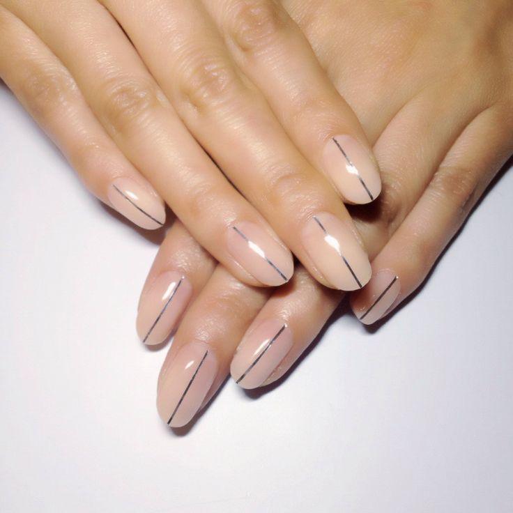 Wedding - Simple Nails