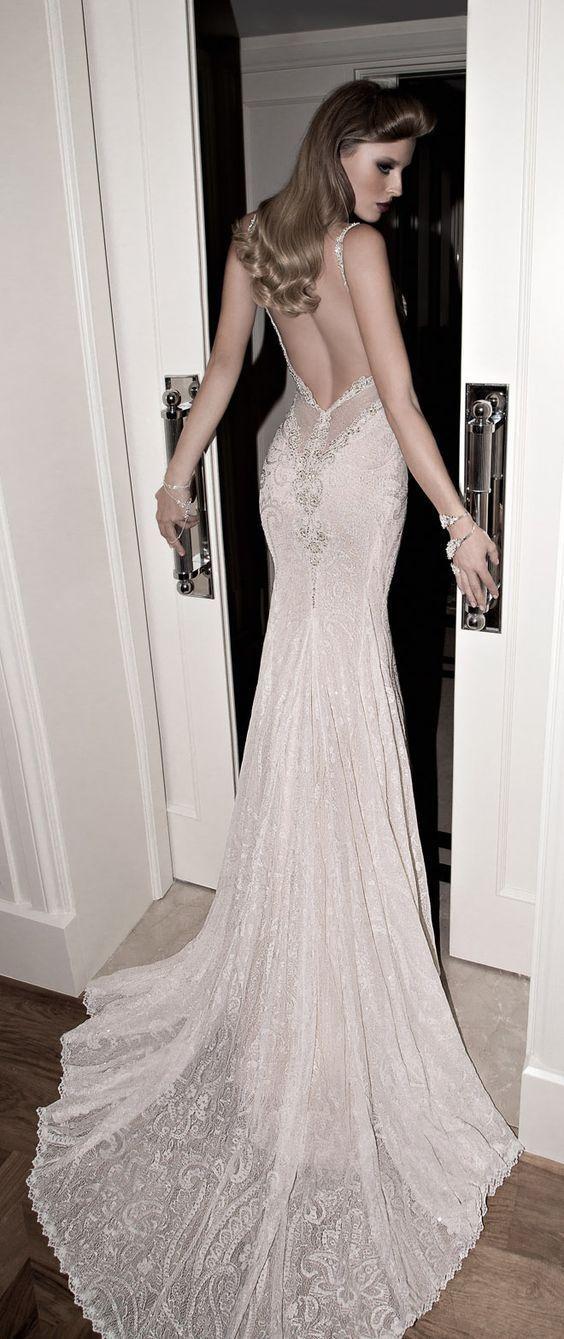 Свадьба - Galia Lahav Open Back Lace Wedding Dress