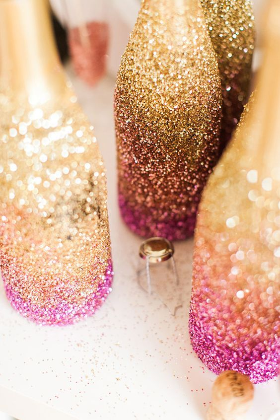 Mariage - 30 Grown-Up Ways To Use Glitter At Your Wedding