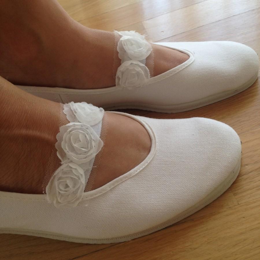 Hochzeit - Wedding shoes,Wedding flats,Girls shoes,Mary jane shoes,Bridal flats,Wedding ballet flats,Bridal shoes,Summer dress shoes,Flower girls shoes
