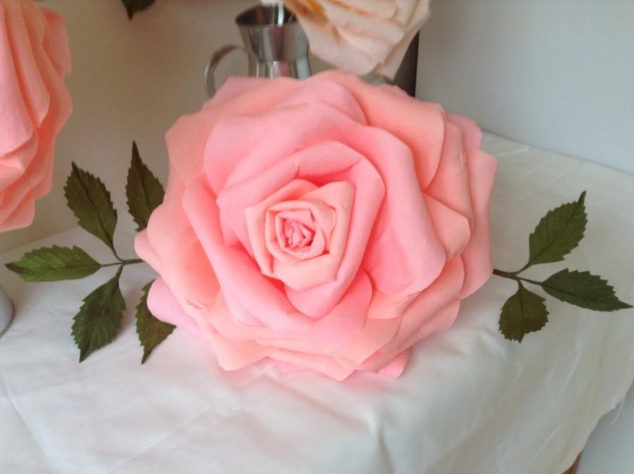 Wedding - Giant paper rose