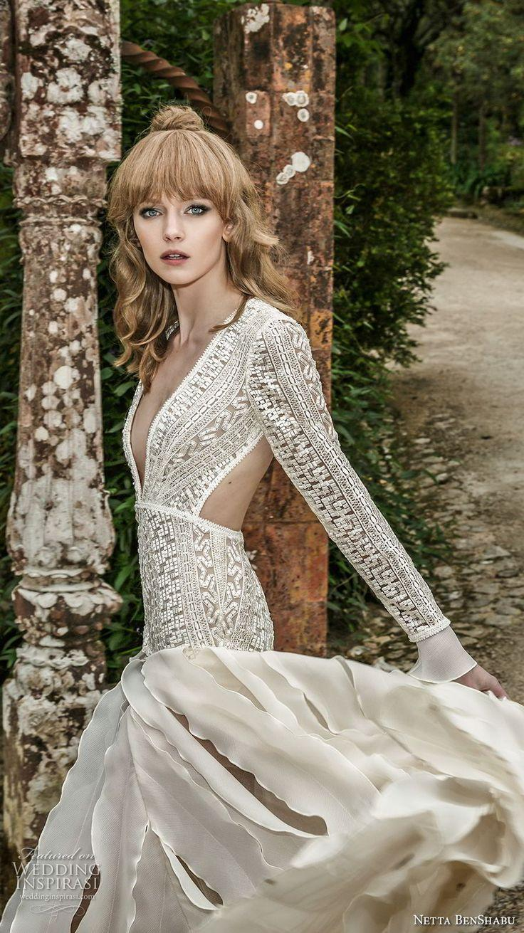 "Wedding - Netta BenShabu 2017 Wedding Dresses — ""The Fairytale Bride"" Collection"