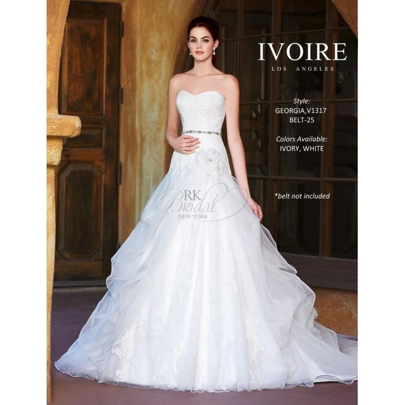 Mariage - Ivoire by Kitty Chen Spring 2014 Style 1317 Georgia - Elegant Wedding Dresses