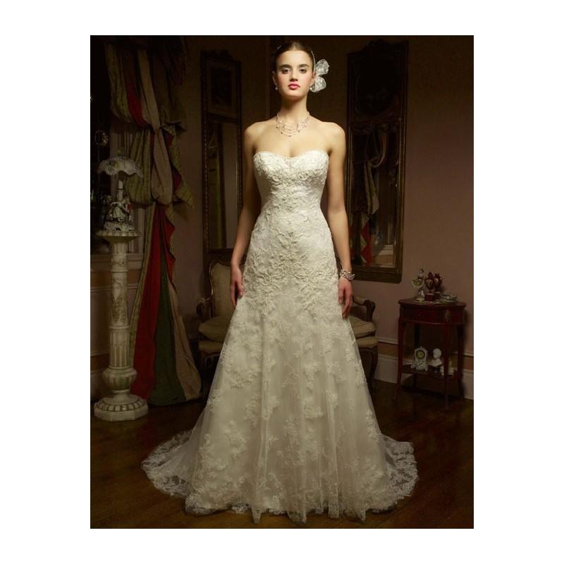 Wedding - Casablanca Bridal 1827 Vintage Lace Wedding Dress - Crazy Sale Bridal Dresses