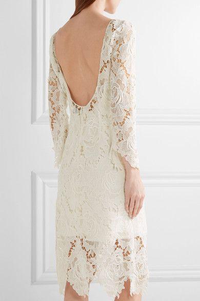 Mariage - Rime Arodaky - Parati Guipure Lace Dress - White