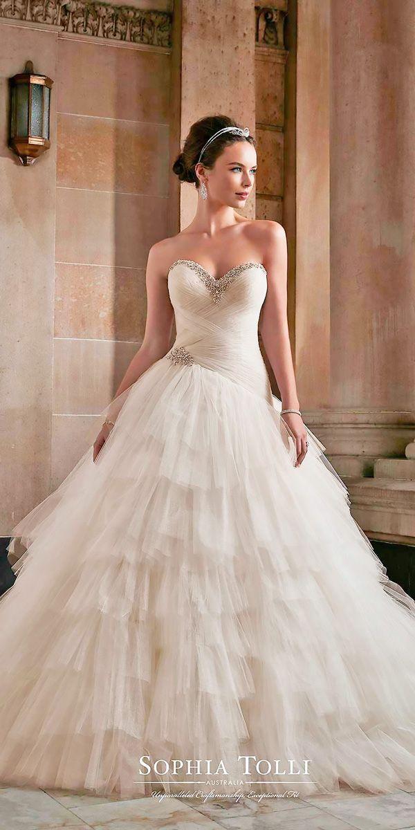 زفاف - The Most Incredible Sophia Tolli Wedding Dresses 2017