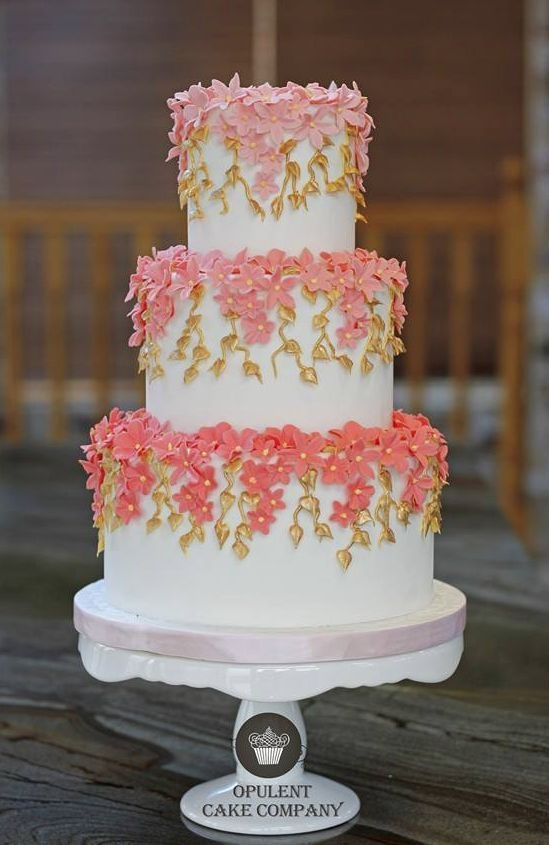 Boda - Wedding Cake Idea Via Opulent Cake Company