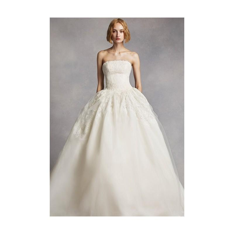 White By Vera Wang Vw351088 Stunning Cheap Wedding