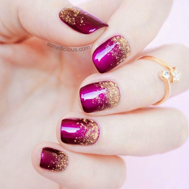 Boda - 2 Genius Tips For A Perfect Glitter Gradient   Tutorial