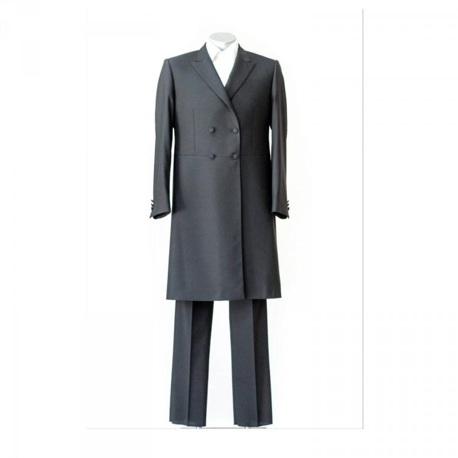 Wedding - Jewish frock coat,  Jewish jacket, Capote, Jewish hood jacket, The jacket of an orthodox Jew
