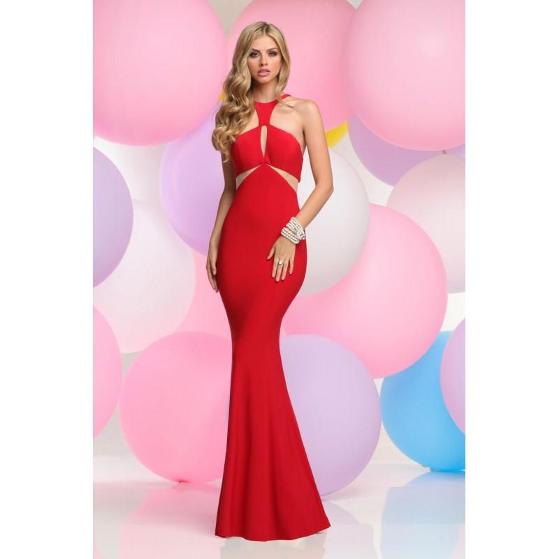 Wedding - Zoey Grey 30830 Red,Bright Purple,Black Dress - The Unique Prom Store