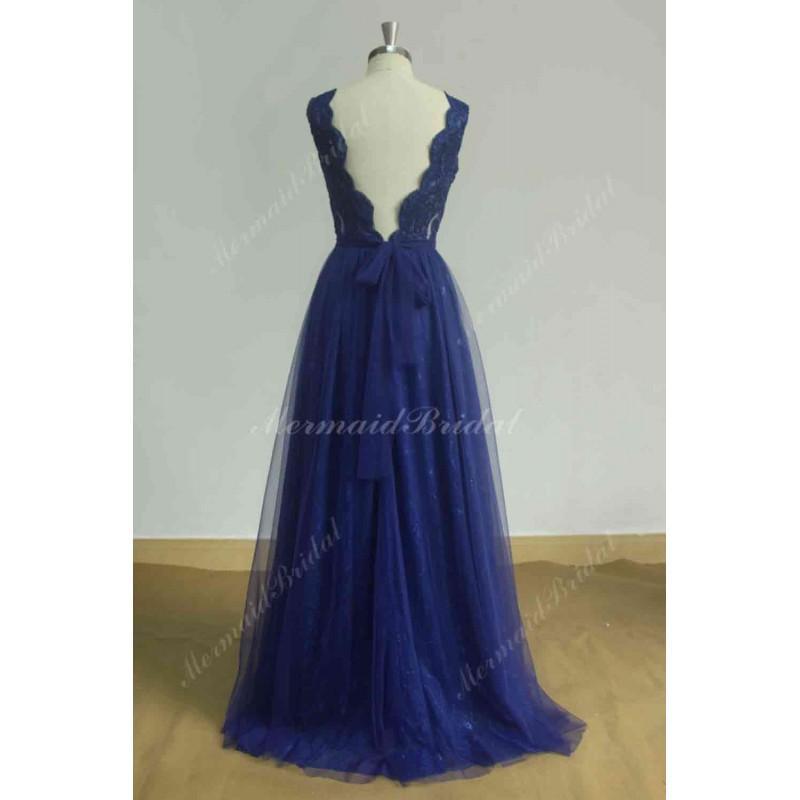 Royal Blue Beach Dress