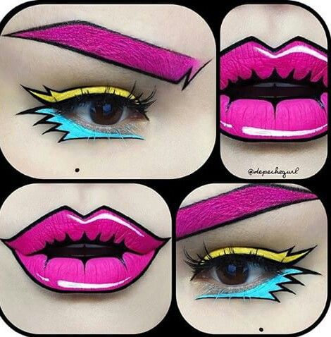 Boda - Comic Book Makeup
