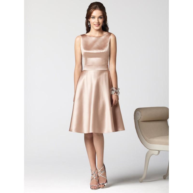 Wedding - Dessy Bridesmaids 2853 - Rosy Bridesmaid Dresses