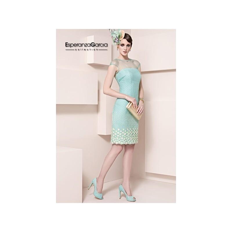 Boda - Vestido de fiesta de Esperanza García Modelo E0903 - 2015 Vestido - Tienda nupcial con estilo del cordón
