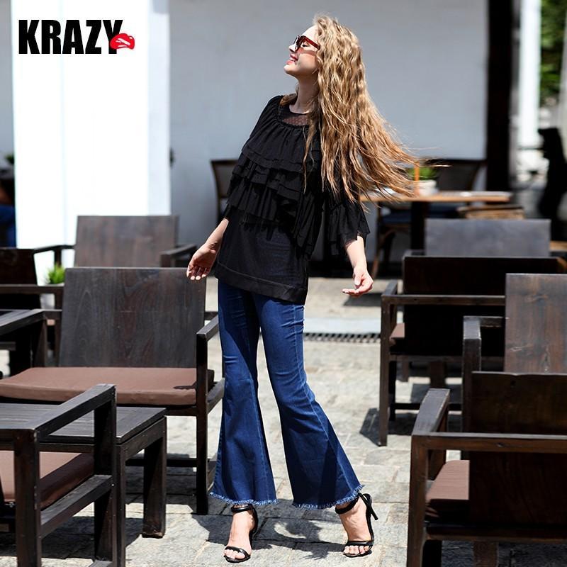 Hochzeit - Stylish Neat Design Cotton Comfortable Jeans - Bonny YZOZO Boutique Store