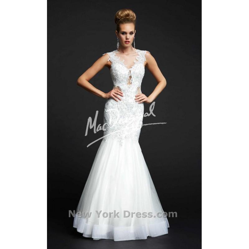 Mariage - Mac Duggal 61983Y - Charming Wedding Party Dresses