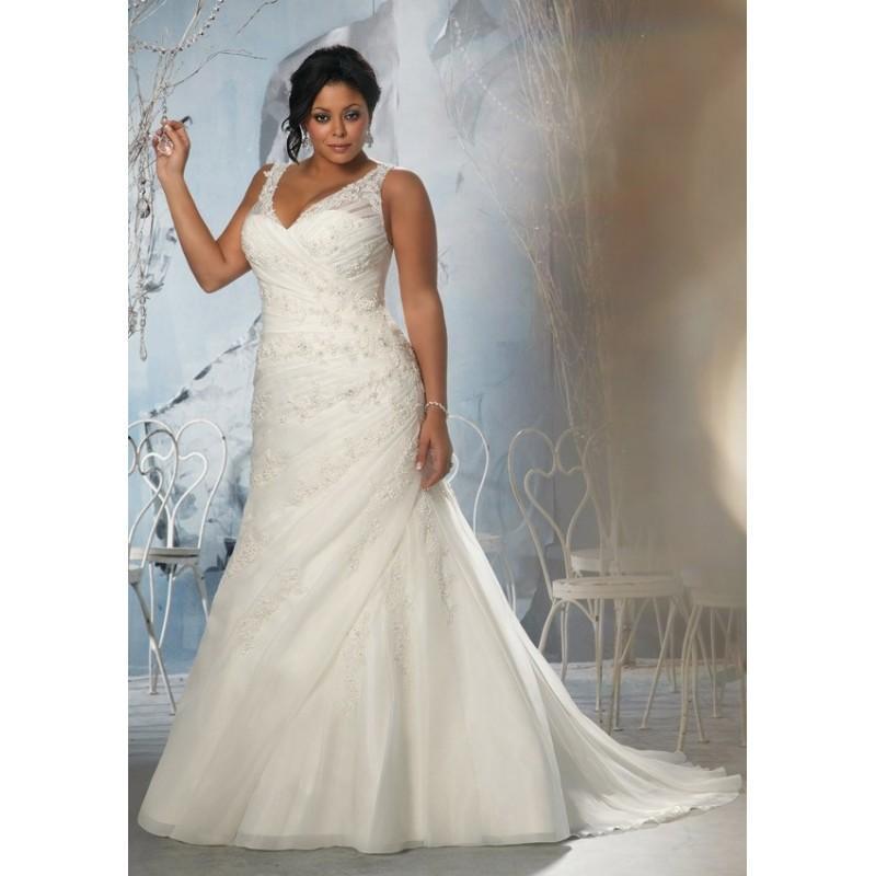 Mori Lee Julietta 3145 Plus Size Wedding Dress - Crazy Sale Bridal ...