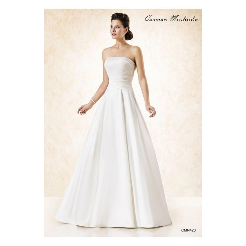 Свадьба - Vestido de novia de Carmen Machado Modelo CMN428 - Tienda nupcial con estilo del cordón