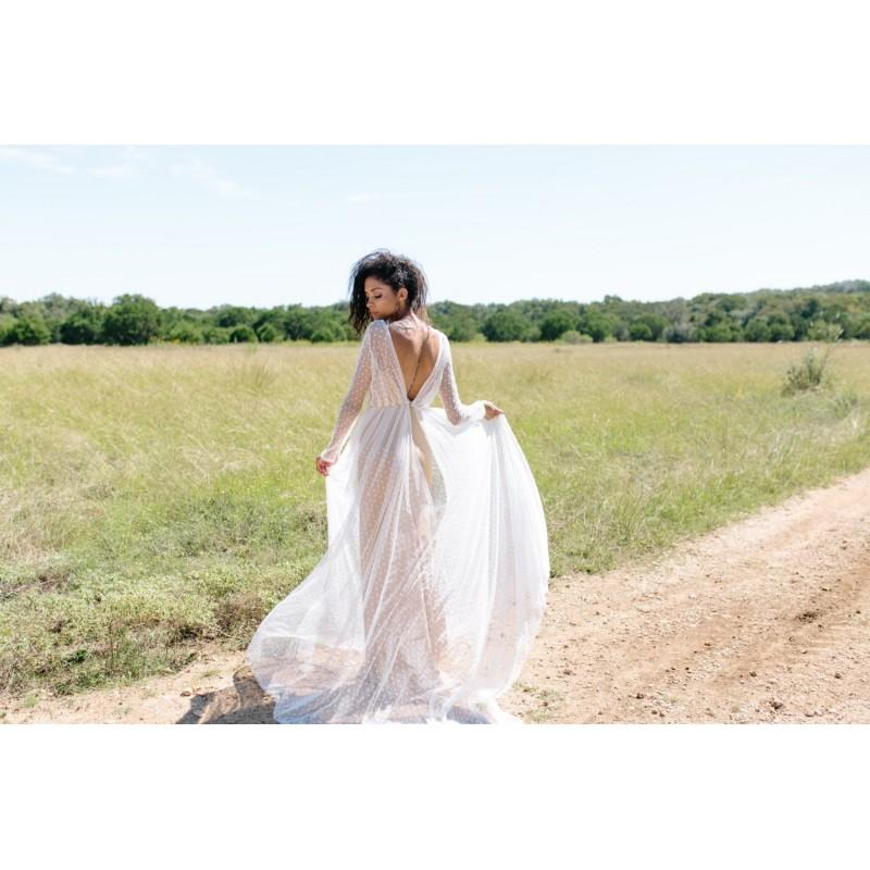 Wedding - Moss Dress // long sleeved lace wedding dress - Hand-made Beautiful Dresses