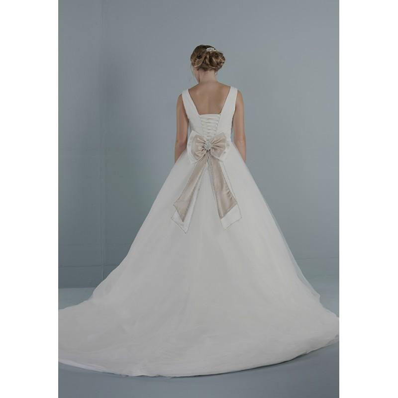 Wedding - romantica-purebridal-2014-bailey-back - Stunning Cheap Wedding Dresses