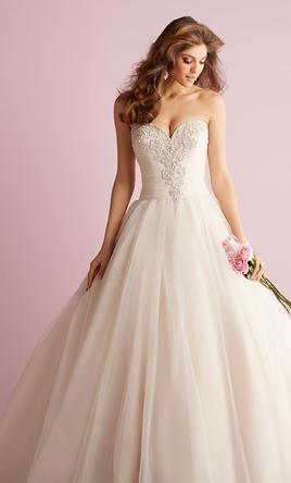 زفاف - Allure Bridals 2710, $479 Size: 14