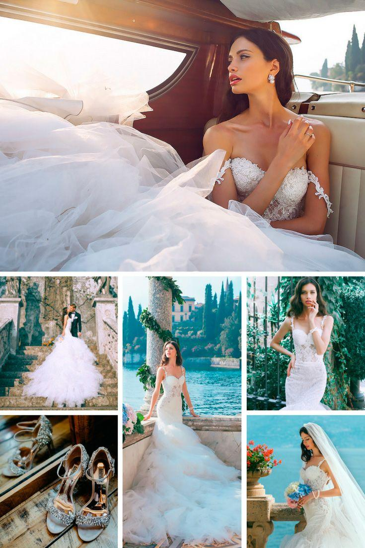 Wedding - Total Look: Bridal Gowns & Accessories For Your Own Wedding Style