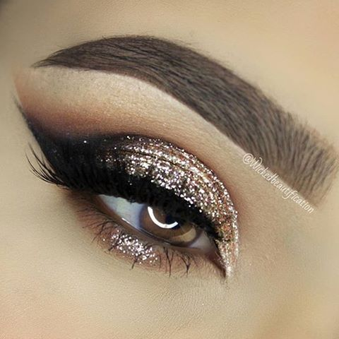 Свадьба - Sparkly Smokey Eye