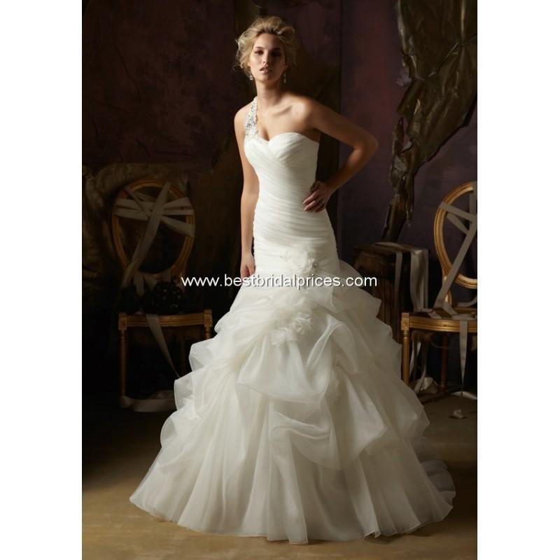 Wedding - Mori Lee Blu Wedding Dresses - Style 4970 - Formal Day Dresses