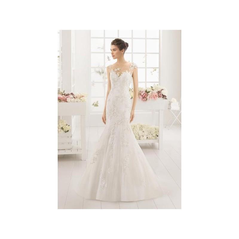 Wedding - Vestido de novia de Aire Barcelona Modelo Museo - 2016 Sirena Otros Vestido - Tienda nupcial con estilo del cordón