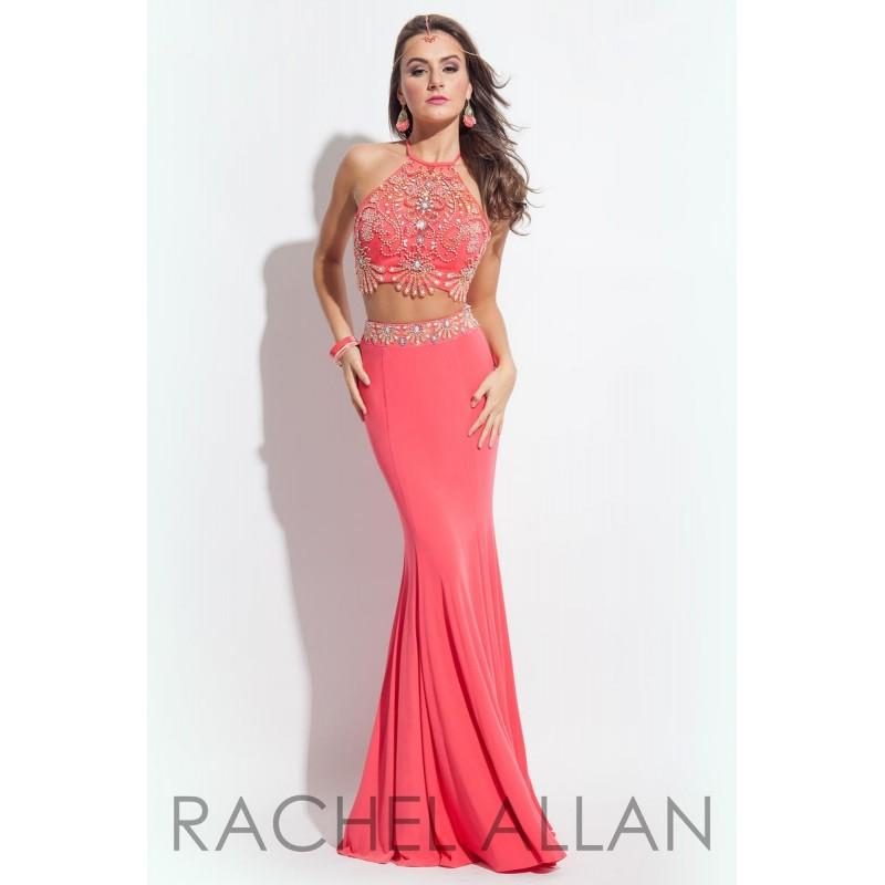 Wedding - Coral Rachel Allan Princess 2030 Rachel Allan Princess - Rich Your Wedding Day