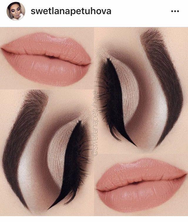 Свадьба - Brown Cut Crease And Peachy Lips