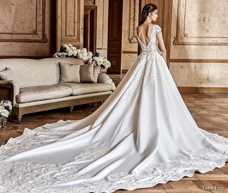 Свадьба - Tarik Ediz White 2017 Wedding Dresses