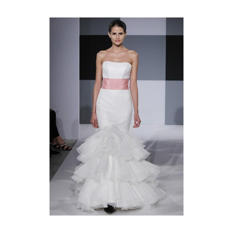 Isaac mizrahi for kleinfeld spring 2013 strapless for Kleinfeld wedding dresses sale