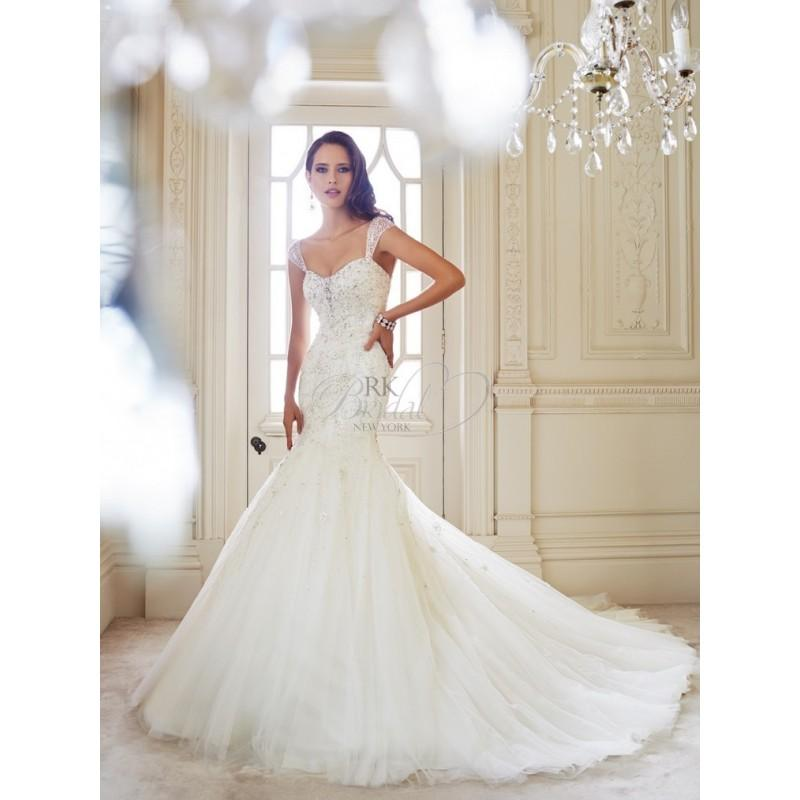 Mariage - Sophia Tolli Bridal Fall 2014 - Y21438 Luise - Elegant Wedding Dresses