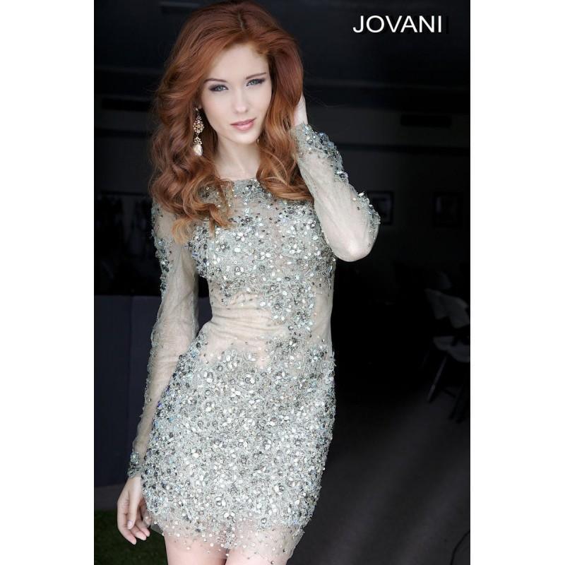 Wedding - Jovani Short and Cocktail 92016 - Brand Wedding Store Online